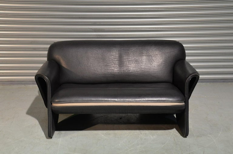 Mid-Century Modern Vintage De Sede DS 125 Sofa Designed by Gerd Lange, Switzerland 1978 For Sale