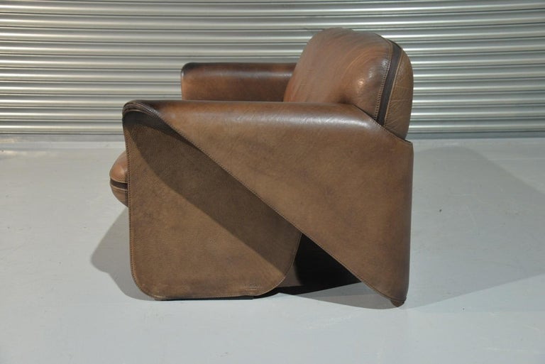 Late 20th Century Vintage De Sede 'DS 125' Sofa Designed by Gerd Lange, Switzerland 1978 For Sale