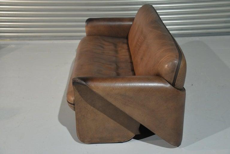 Leather Vintage De Sede 'DS 125' Sofa Designed by Gerd Lange, Switzerland 1978 For Sale