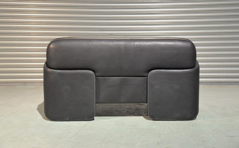Leather Vintage De Sede DS 125 Sofa Designed by Gerd Lange, Switzerland 1978 For Sale