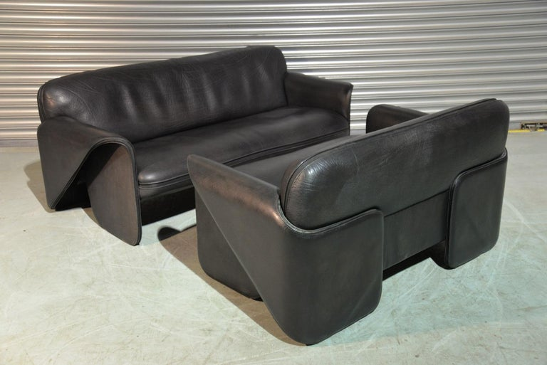 Late 20th Century Vintage De Sede DS 125 Sofas Designed by Gerd Lange, Switzerland 1978 For Sale