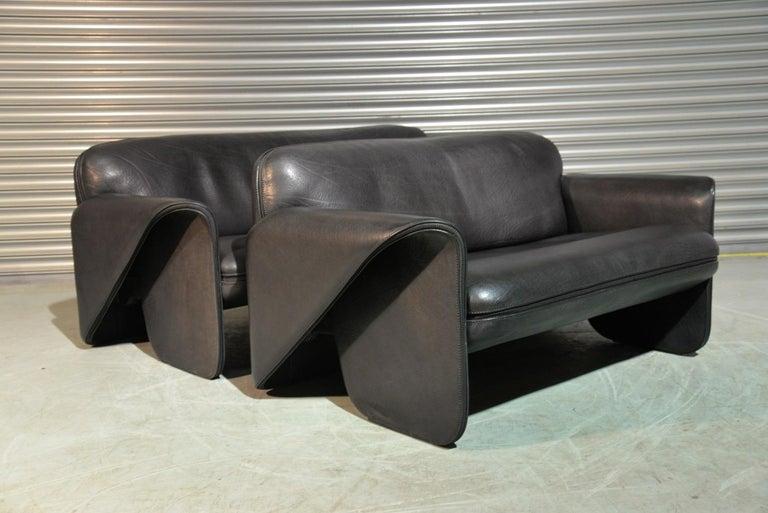 Late 20th Century Vintage De Sede 'DS 125' Suite Designed by Gerd Lange, Switzerland 1978 For Sale