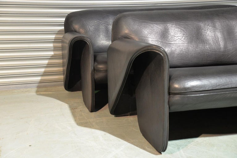 Leather Vintage De Sede 'DS 125' Suite Designed by Gerd Lange, Switzerland 1978 For Sale