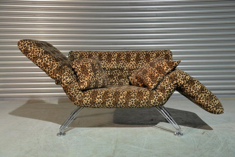 Vintage Swiss De Sede DS 142 Sofa Designed by Winfried Totzek in 1988 In Good Condition For Sale In Fen Drayton, Cambridgeshire
