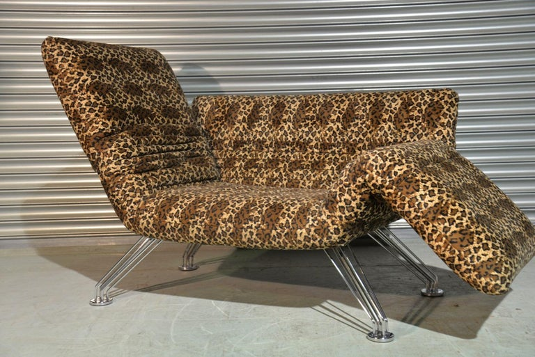 Vintage Swiss De Sede DS 142 Sofa Designed by Winfried Totzek in 1988 For Sale 1