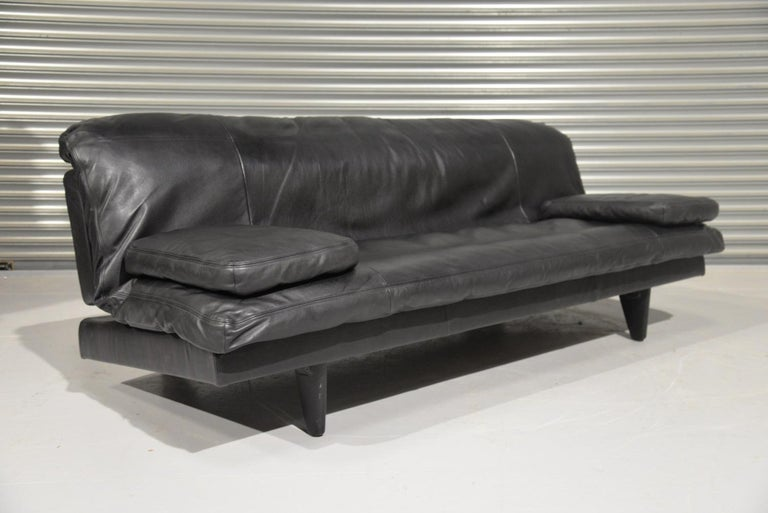 Vintage Swiss de Sede DS 169 leather Sofa and Daybed, 1970s For Sale 3