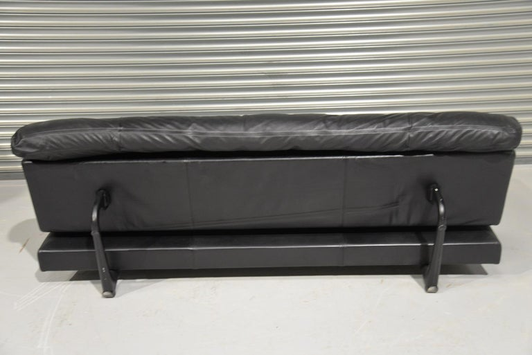 Late 20th Century Vintage Swiss de Sede DS 169 leather Sofa and Daybed, 1970s For Sale