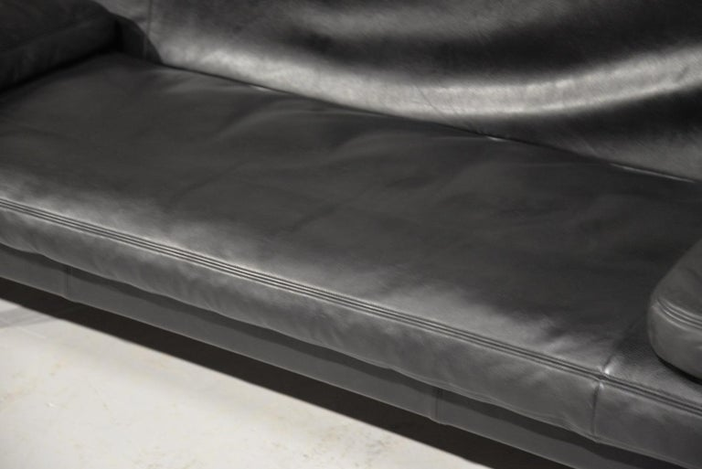 Vintage Swiss de Sede DS 169 leather Sofa and Daybed, 1970s For Sale 10