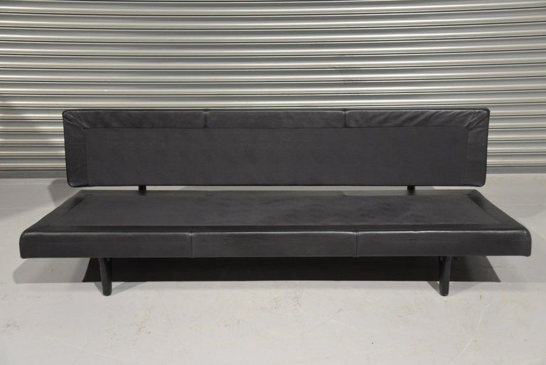 Vintage Swiss de Sede DS 169 leather Sofa and Daybed, 1970s For Sale 11