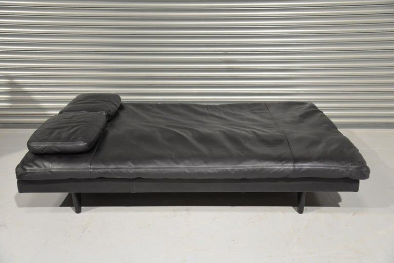 Vintage Swiss de Sede DS 169 leather Sofa and Daybed, 1970s For Sale 5