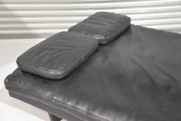 Vintage Swiss de Sede DS 169 leather Sofa and Daybed, 1970s For Sale 7