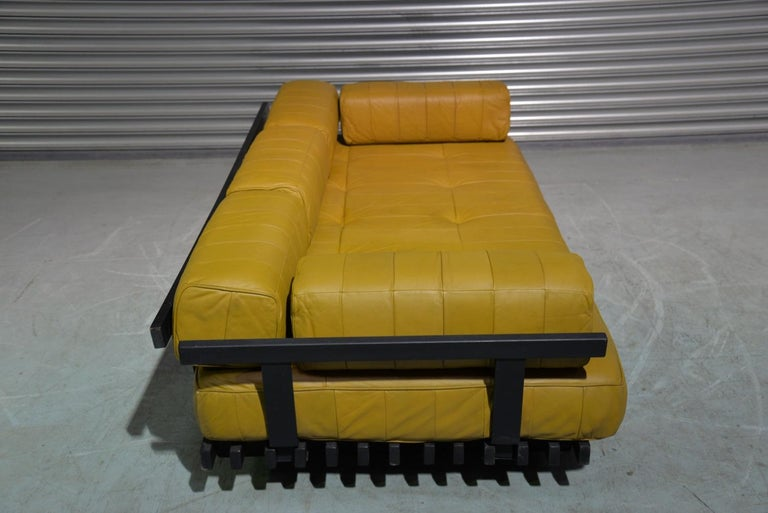 Vintage de Sede DS 80 Patchwork Leather Daybed, Switzerland 1960`s For Sale 5