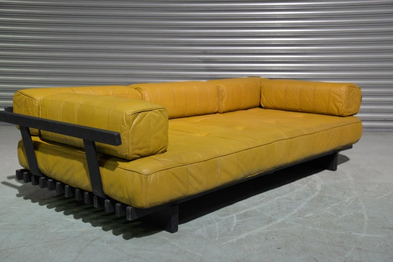 Vintage de Sede DS 80 Patchwork Leather Daybed, Switzerland 1960`s For Sale 6