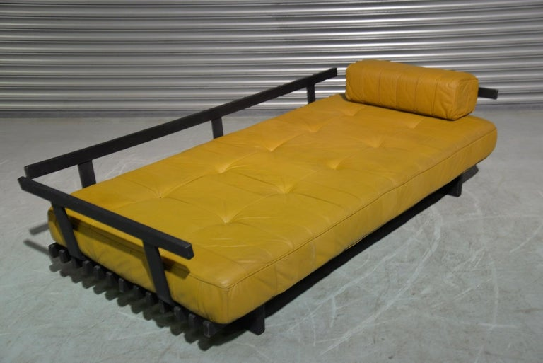 Vintage de Sede DS 80 Patchwork Leather Daybed, Switzerland 1960`s For Sale 7