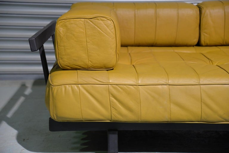 Vintage de Sede DS 80 Patchwork Leather Daybed, Switzerland 1960`s For Sale 8