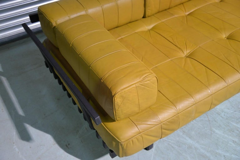 Vintage de Sede DS 80 Patchwork Leather Daybed, Switzerland 1960`s For Sale 10