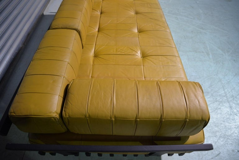 Vintage de Sede DS 80 Patchwork Leather Daybed, Switzerland 1960`s For Sale 11