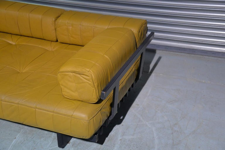 Vintage de Sede DS 80 Patchwork Leather Daybed, Switzerland 1960`s For Sale 12