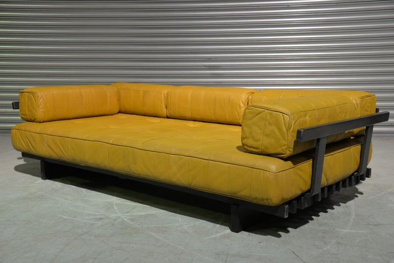 Swiss Vintage de Sede DS 80 Patchwork Leather Daybed, Switzerland 1960`s For Sale