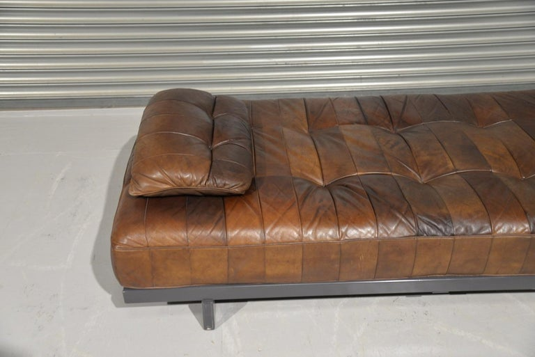 Vintage De Sede DS 80 Patchwork Leather Daybed, Switzerland 1960s 7