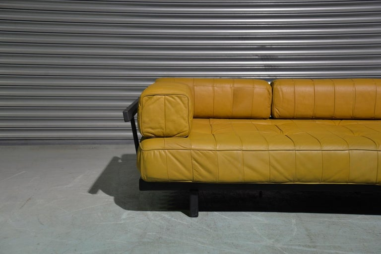 Vintage de Sede DS 80 Patchwork Leather Daybed, Switzerland 1960`s For Sale 1