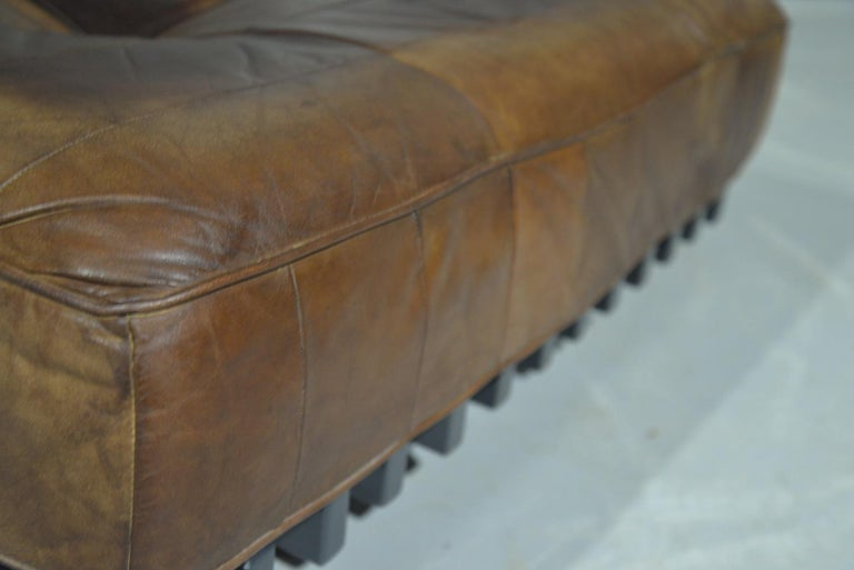 Vintage De Sede DS 80 Patchwork Leather Daybed, Switzerland 1960s 8