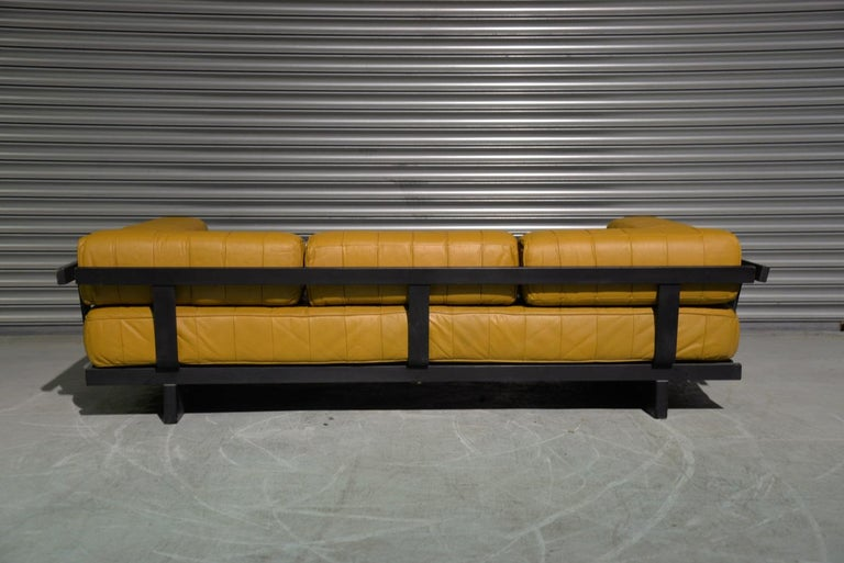 Vintage de Sede DS 80 Patchwork Leather Daybed, Switzerland 1960`s For Sale 3