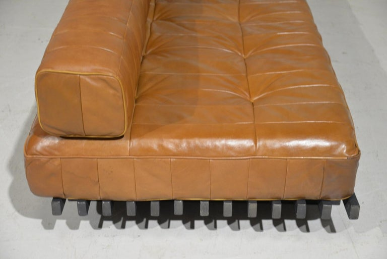 Vintage De Sede DS 80 Leather Patchwork Daybed, Switzerland, 1960s For Sale 4