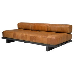 Vintage De Sede DS 80 Leather Patchwork Daybed, Switzerland, 1960s