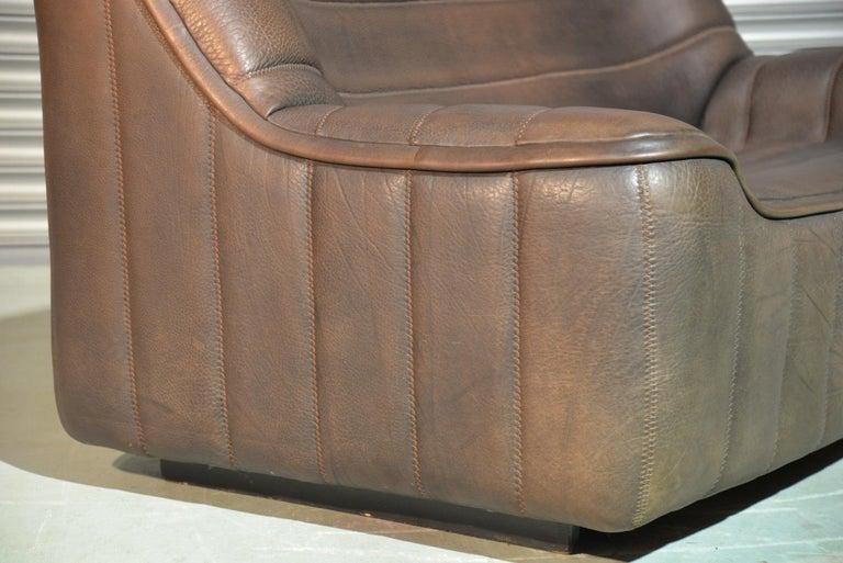 Vintage De Sede DS 84 Leather Sofa, Switzerland 1970s For Sale 5