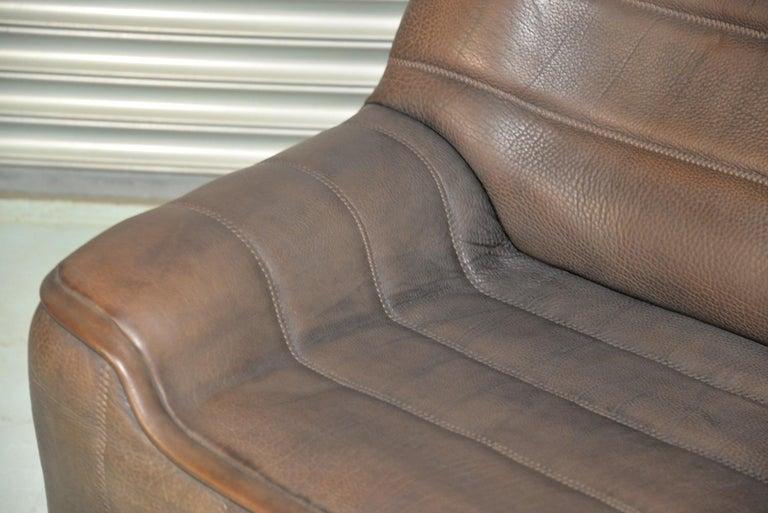Vintage De Sede DS 84 Leather Sofa, Switzerland 1970s For Sale 6