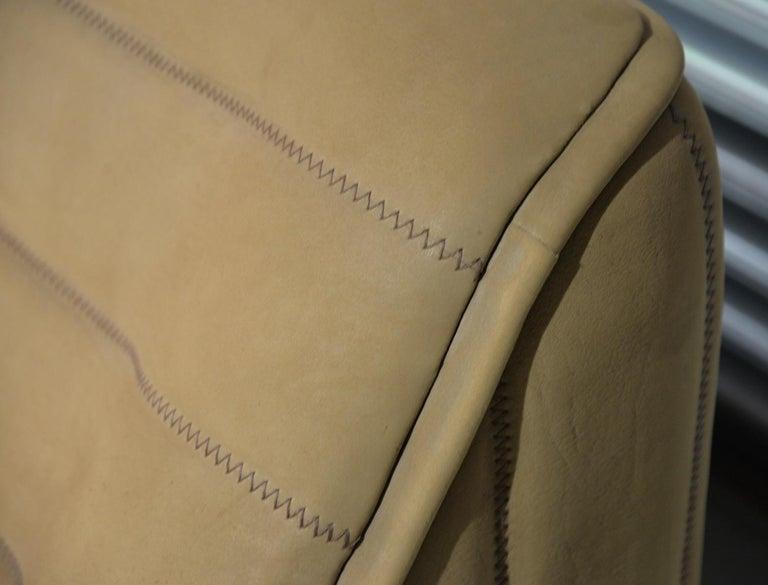 Vintage De Sede DS 84 Leather Sofa, Switzerland 1970s For Sale 10