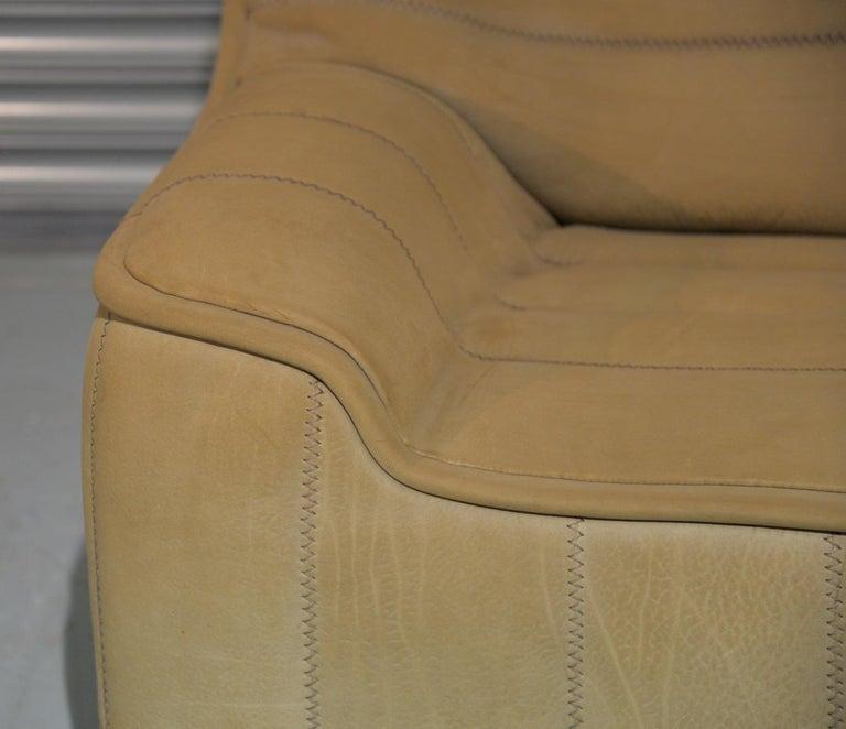 Vintage De Sede DS 84 Leather Sofa, Switzerland 1970s For Sale 8