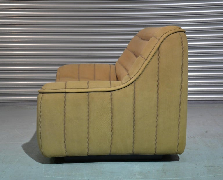 Swiss Vintage De Sede DS 84 Leather Sofa, Switzerland 1970s For Sale