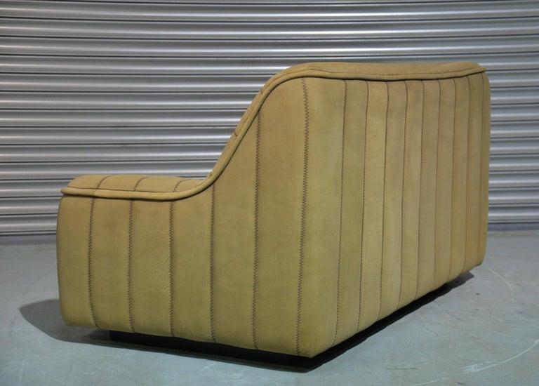 Vintage De Sede DS 84 Leather Sofa, Switzerland 1970s In Good Condition For Sale In Fen Drayton, Cambridgeshire