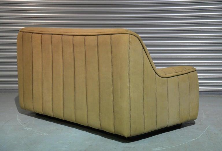 Vintage De Sede DS 84 Leather Sofa, Switzerland 1970s For Sale 1