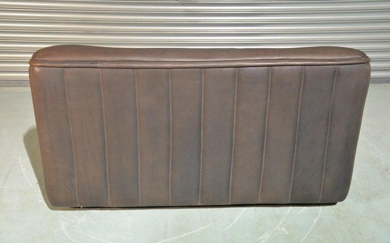 Vintage De Sede DS 84 Leather Sofa, Switzerland 1970s For Sale 2