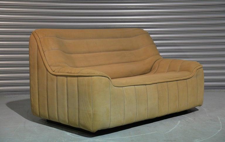 Vintage De Sede DS 84 Leather Sofa, Switzerland 1970s For Sale 3