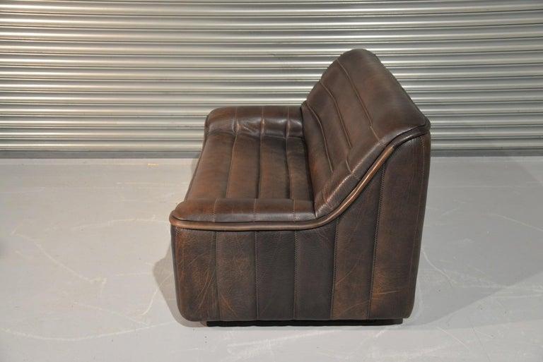 Vintage De Sede DS 84 Leather Sofas, Switzerland 1970s For Sale 4
