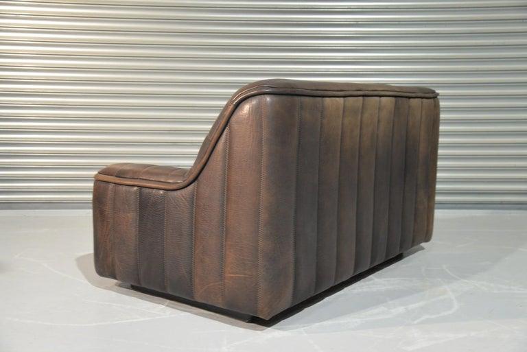 Vintage De Sede DS 84 Leather Sofas, Switzerland 1970s For Sale 5