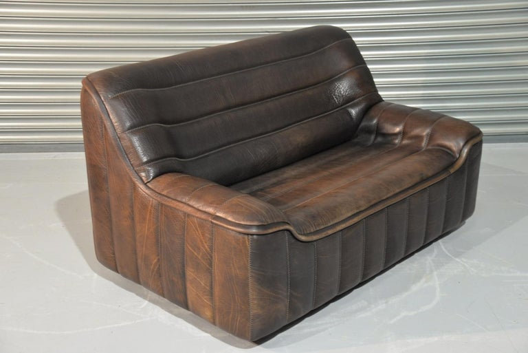 Vintage De Sede DS 84 Leather Sofas, Switzerland 1970s For Sale 6