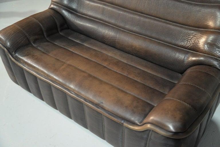 Vintage De Sede DS 84 Leather Sofas, Switzerland 1970s For Sale 8