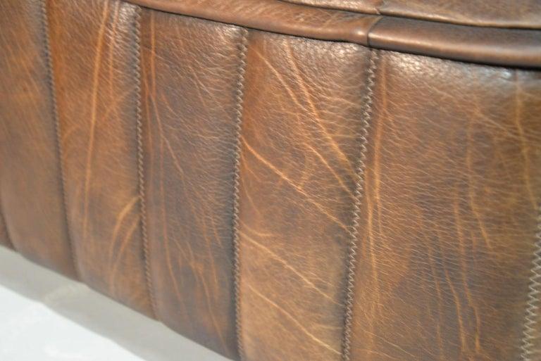 Vintage De Sede DS 84 Leather Sofas, Switzerland 1970s For Sale 11