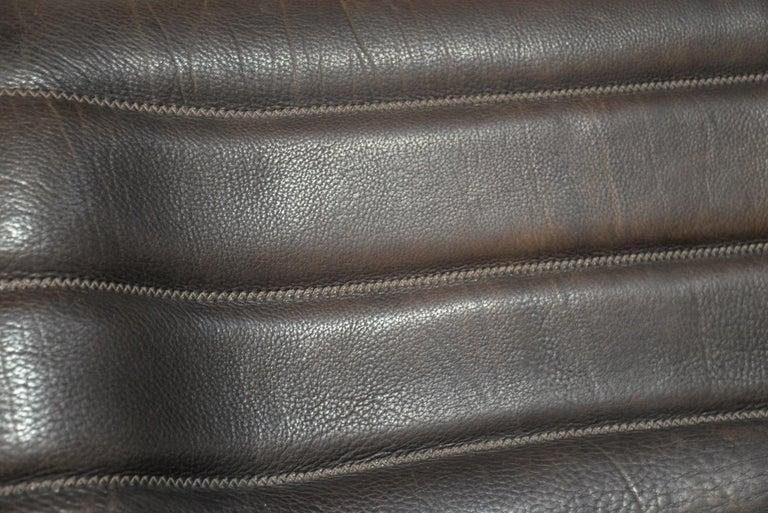 Vintage De Sede DS 84 Leather Sofas, Switzerland 1970s For Sale 13