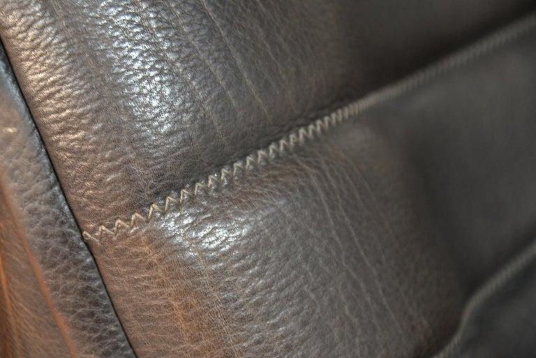 Vintage De Sede DS 84 Leather Sofas, Switzerland 1970s For Sale 14