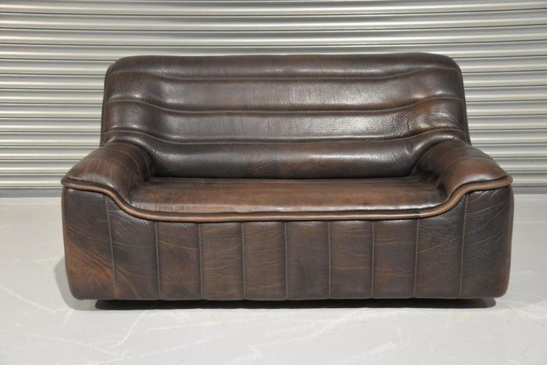 Vintage De Sede DS 84 Leather Sofas, Switzerland 1970s For Sale 2