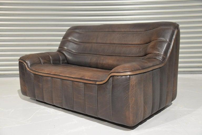 Vintage De Sede DS 84 Leather Sofas, Switzerland 1970s For Sale 3