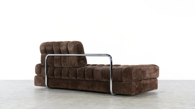 Vintage Swiss De Sede DS 85 Daybed and Sofa and Loveseat, 1970s 10