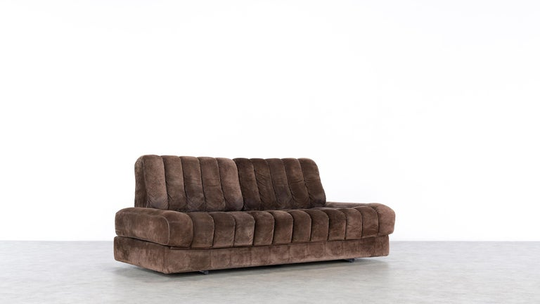 Late 20th Century Vintage Swiss De Sede DS 85 Daybed and Sofa and Loveseat, 1970s