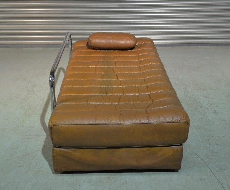 Vintage de Sede DS 85 Leather Sofa, Daybed and Loveseat, Switzerland 1960s For Sale 6